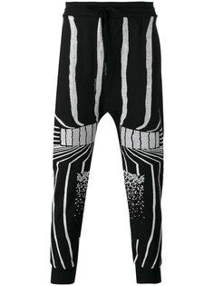 брюки с абстрактной вышивкой 11 By Boris Bidjan Saberi