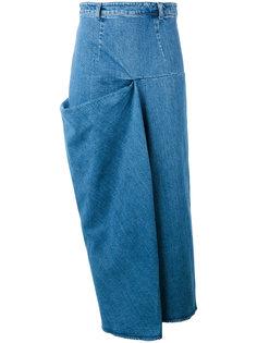 юбка миди с присборенной деталью Stella McCartney