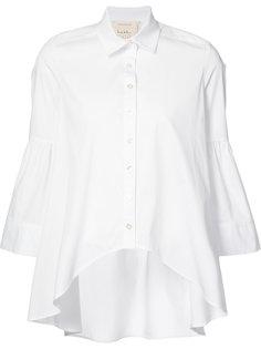рубашка с закругленным подолом Nicole Miller