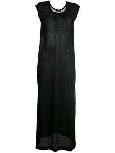 длинное платье-футболка  Twin-Set
