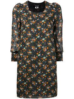 платье шифт с цветочным узором Junya Watanabe Comme Des Garçons
