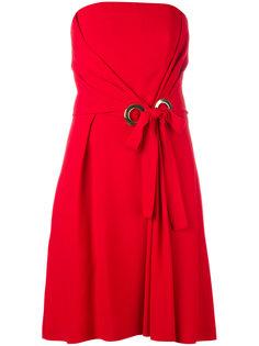 платье без бретелей Alberta Ferretti
