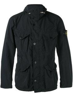 легкая куртка с накладными карманами Stone Island