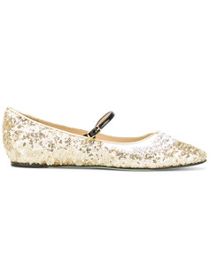 embellished ballerina shoes  Giannico
