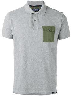 рубашка-поло с контрастным карманом Woolrich