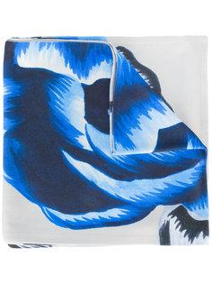 шарф с цветочным принтом Balenciaga