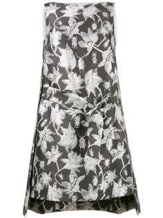 металлизированное платье с жаккардовым узором Osman