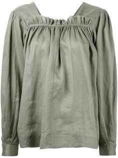 блузка с присборенной отделкой Joseph