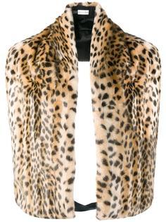 шарф с леопардовым узором Dries Van Noten