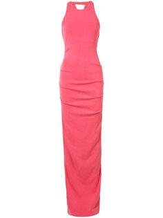 платье со скрещенными лямками сзади Nicole Miller