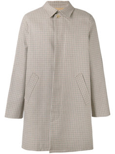 checked button-up coat A.P.C.