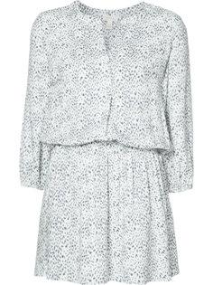 короткое платье с V-образным вырезом Joie