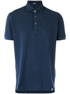 chest pocket polo shirt Drumohr