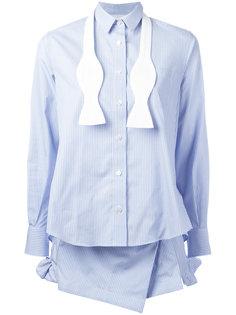 undone bow-tie shirt Sacai