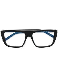rectangular frame glasses  Saint Laurent