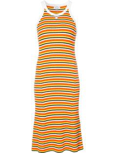 платье-майка в полоску Courrèges