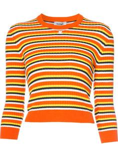 полосатый свитер с длинными рукавами Courrèges