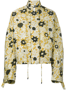 floral print jacket Christian Wijnants