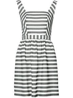 сетчатое платье в полоску Trina Turk