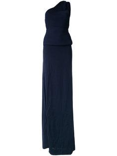 вечернее платье на одно плечо Dsquared2