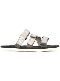 сандалии с пряжками на ремешках  Suicoke