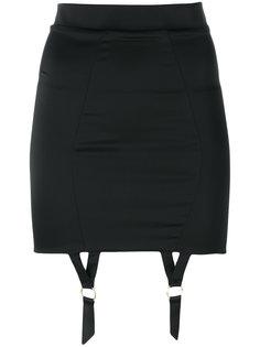 suspenders applique skirt  Murmur