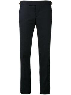 брюки с заниженной талией и ярлыком сбоку  Thom Browne