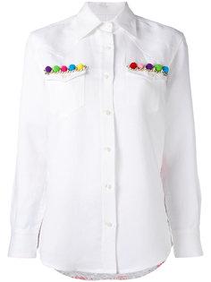 рубашка с отделкой Thelma Forte Couture