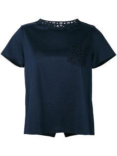 расклешенная футболка Moncler