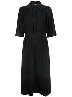 платье-рубашка с поясом Helmut Lang