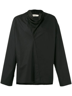 рубашка с драпировкой  Damir Doma