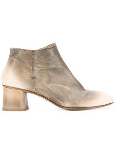 сапоги по щиколотку на невысоких каблуках Silvano Sassetti