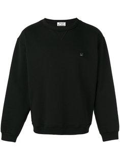 face logo sweatshirt Acne Studios