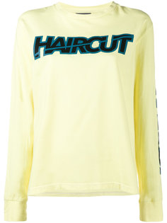 Haircut Long Sleeved Sweatshirt Ashley Williams