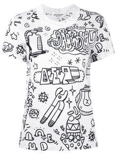 illustrated T-shirt Junya Watanabe Comme Des Garçons
