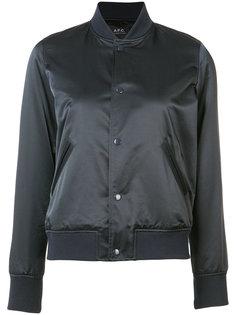 куртка-бомбер на кнопках A.P.C.