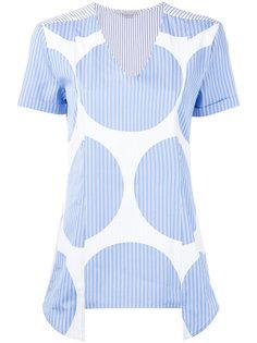 блузка в крупный горох Stella McCartney