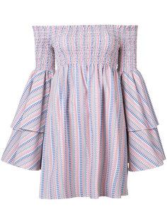 платье с открытыми плечами Caroline Constas