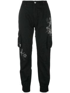 брюки с заклепками Twin-Set