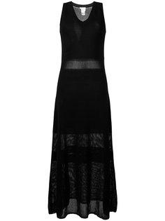 трикотажное длинное платье See By Chloé