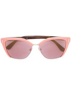 """солнцезащитные очки """"кошачий глаз"""" Prada Eyewear"""