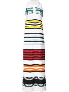 длинное платье в полоску Rosie Assoulin