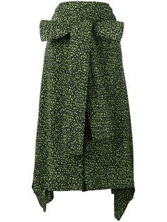 юбка с асимметричным подолом Marni