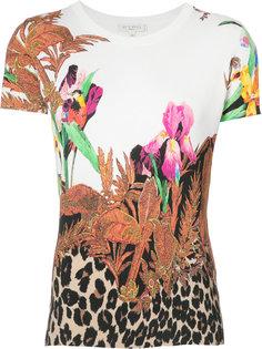 футболка с ботаническим принтом Etro