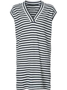 платье-футболка в полоску Atm Anthony Thomas Melillo