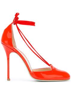 туфли с завязками на щиколотке Giannico