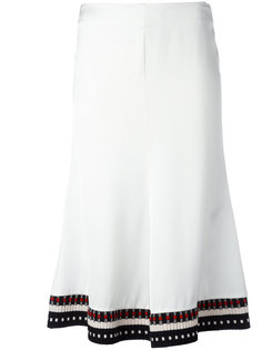 расклешенная юбка миди Victoria Beckham