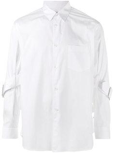 рубашка с ремешками Comme Des Garçons Shirt