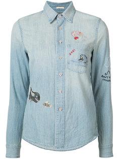 джинсовая рубашка Mother