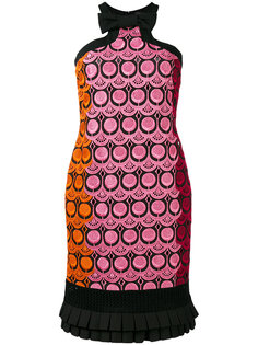 embroidered dress Capucci